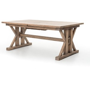 Tuscan Spring Farmhouse Dining Table