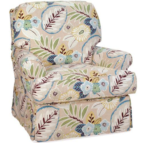 Accent Chairs Transitional Claire Chair by Four Seasons Furniture at Jordan's Home Furnishings