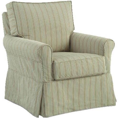 Accent Chairs Transitional Libby Chair by Four Seasons Furniture at Johnny Janosik