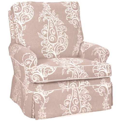 Accent Chairs Transitional Aiden Chair by Four Seasons Furniture at Jordan's Home Furnishings