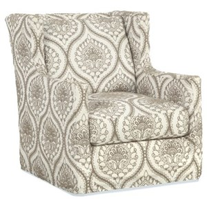Upholstered Chair with Wings
