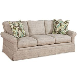 Casual Fully Upholstered Sofa