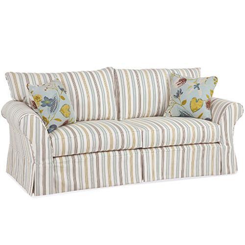 Alyssa Casual Sofa by Four Seasons Furniture at Jordan's Home Furnishings