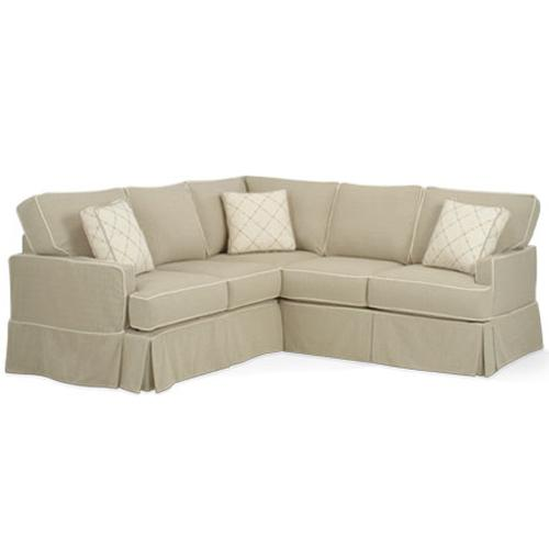 Morgan Transitional Sectional by Four Seasons Furniture at Jordan's Home Furnishings
