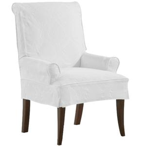 Casual Chair with Tapered Feet