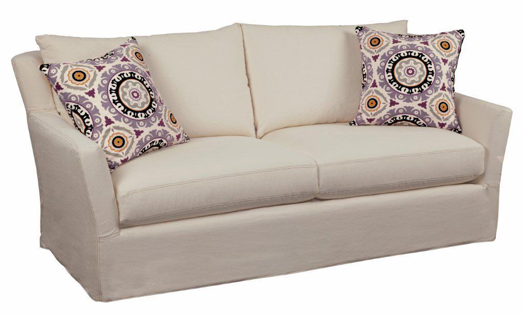 Porter Upholstered Sofa by Four Seasons Furniture at Jordan's Home Furnishings