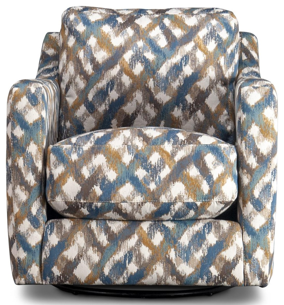 Redding Redding Accent Swivel Chair by Franklin at Morris Home
