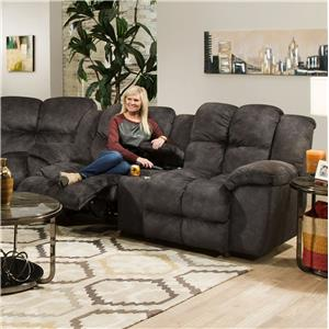 Franklin 461 Power Reclining Console Loveseat