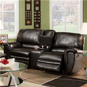 Franklin 463 Rocking Console Loveseat