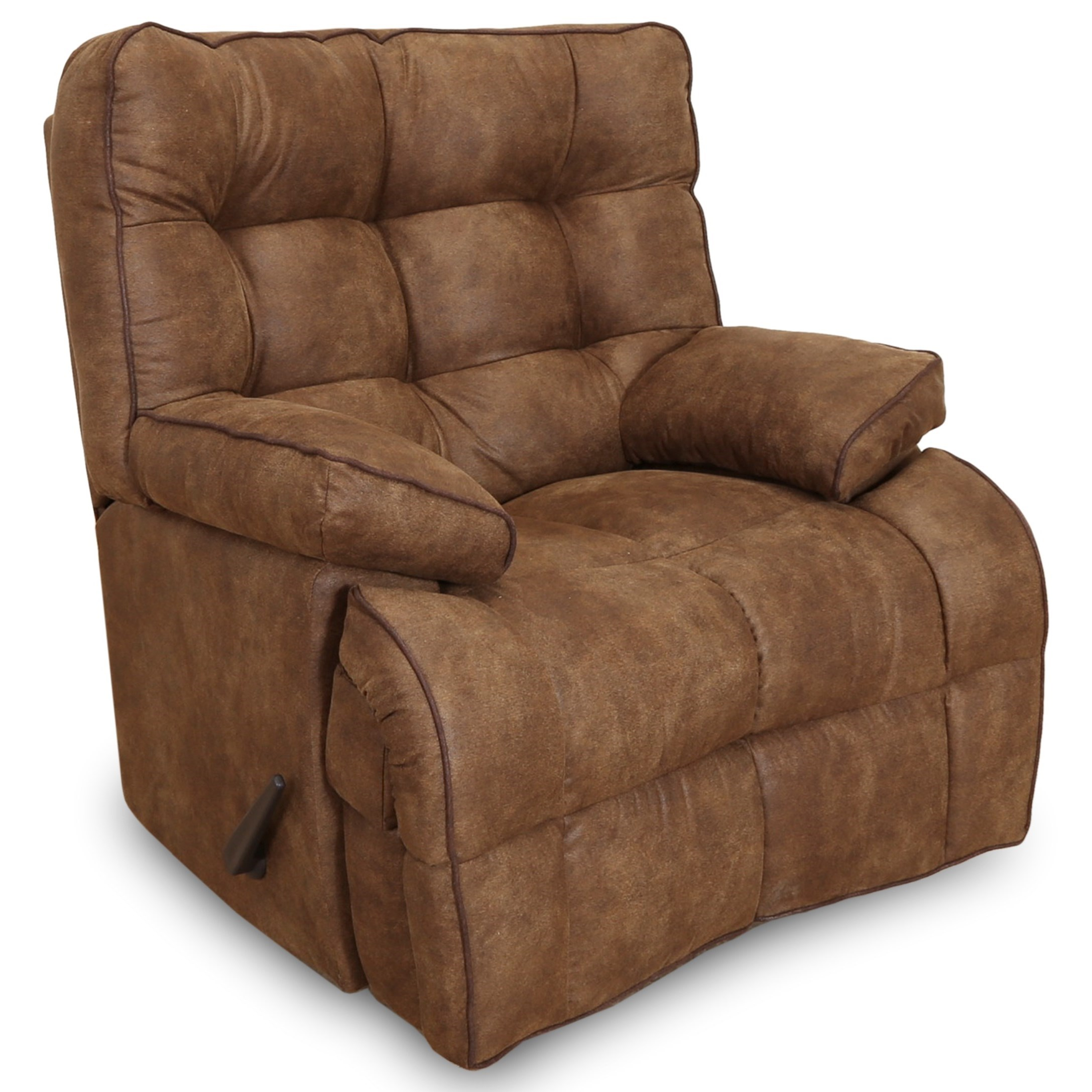 Venture Power Lay Flat Recliner with USB Port by Franklin at Rooms for Less