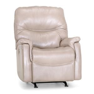 Power Rocker Recliner with USB Port and Power Headrest, Power Footrest, & Power Lumbar