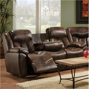 Franklin 564 Reclining Sofa with Table