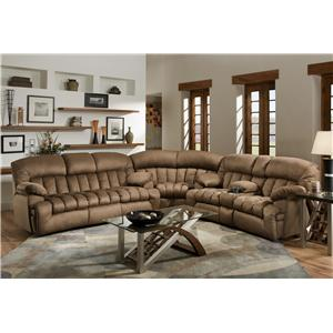 Franklin 568 Reclining Sectional Sofa