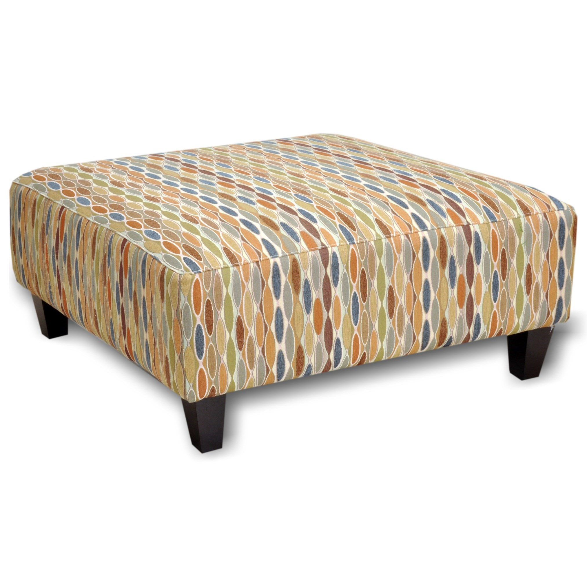 71418 Ottoman by Franklin at Wilcox Furniture