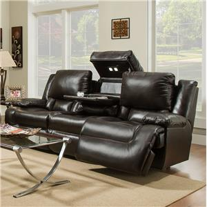 Franklin Excalibur Power Reclining Sofa with Tech Gadgets