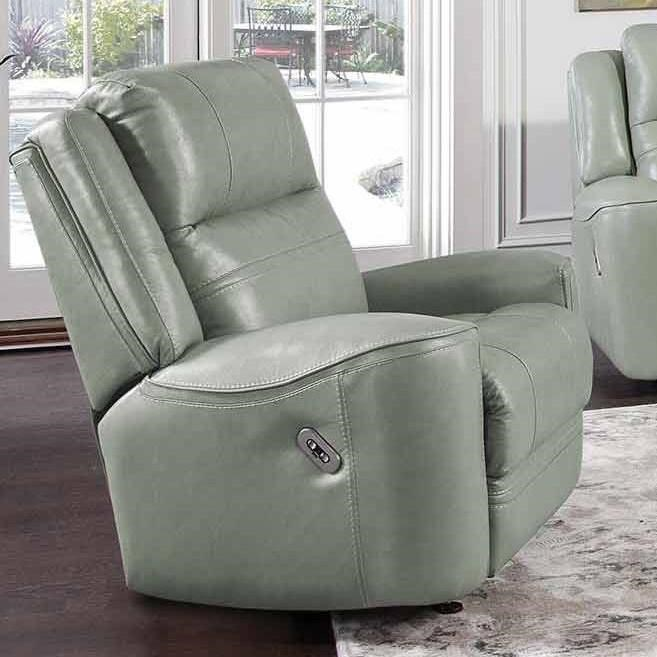 762 Dual Power Rocker Recliner with USB Port by Franklin at Wilcox Furniture
