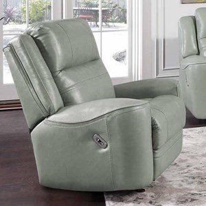 Casual Dual Power Rocker Recliner with USB Port