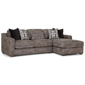Contemporary Sofa with Chaise