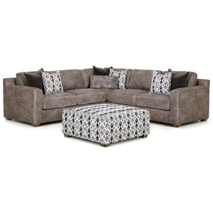 Contemporary Three Piece Sectional