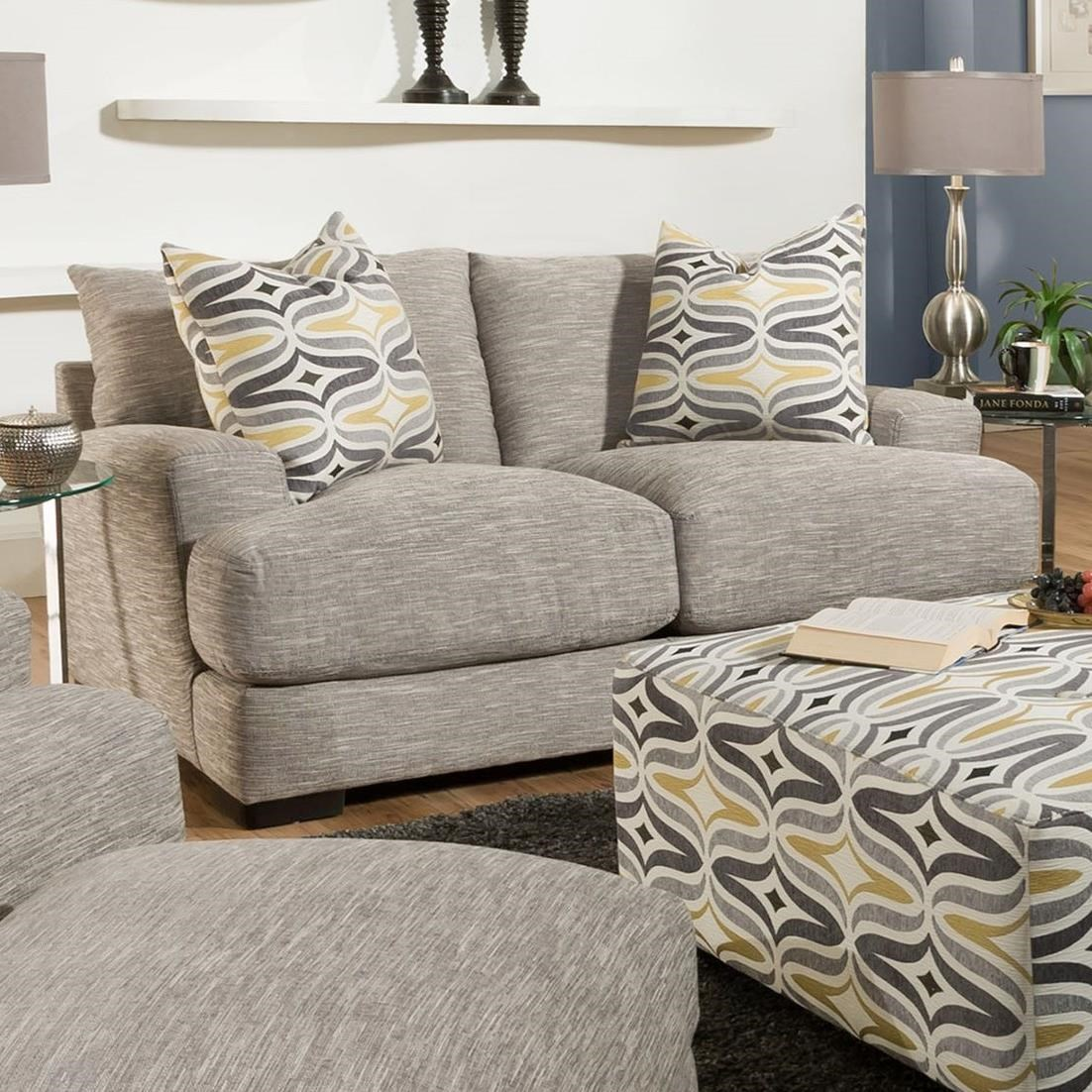 Barton Loveseat by Franklin at Wilcox Furniture