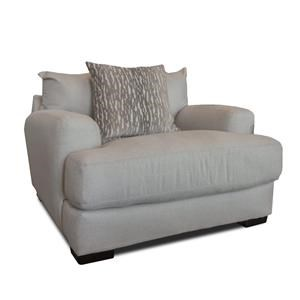 Linen Chair & A Half