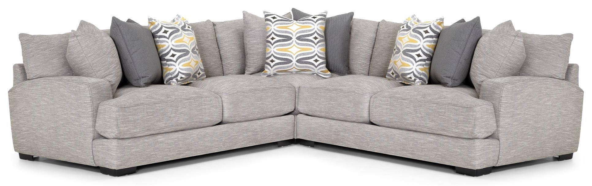 Barton Three Piece Sectional at Bennett's Furniture and Mattresses