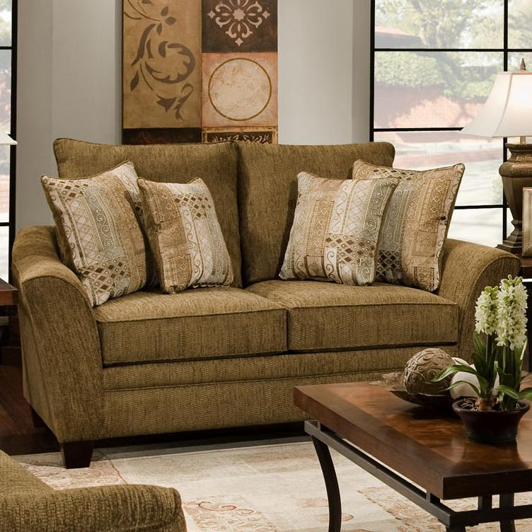 811 Emily Loveseat by Franklin at Wilcox Furniture