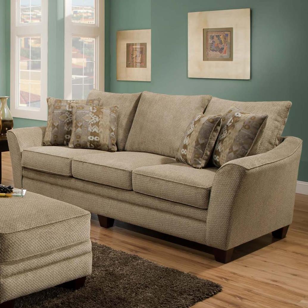 811 Ashland Sofa by Franklin at Wilcox Furniture