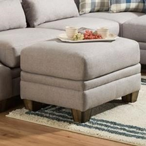 Pull-Up Chaise Ottoman