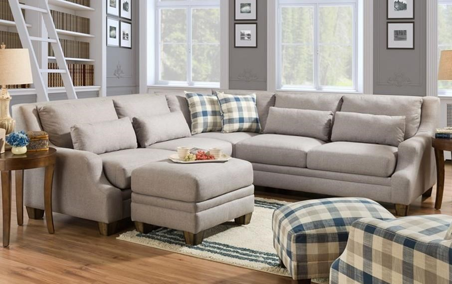 850 L-Shaped Sectional by Franklin at Wilcox Furniture