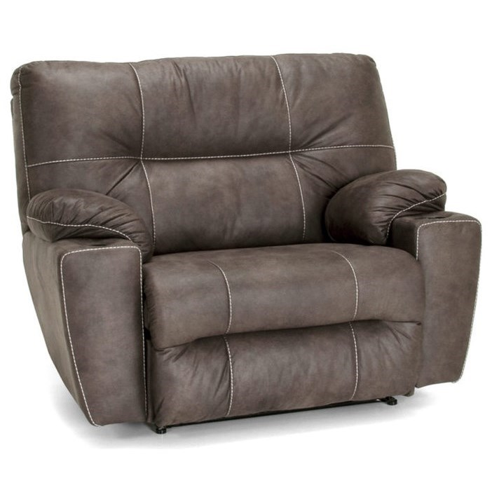 Titus Snuggler Recliner by Franklin at Wilcox Furniture
