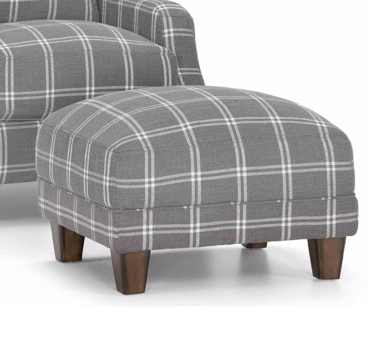 863 Accent Ottoman by Franklin at Turk Furniture