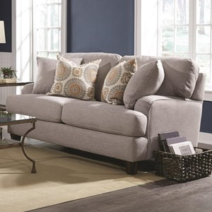 Loveseat with Classic Cottage Style