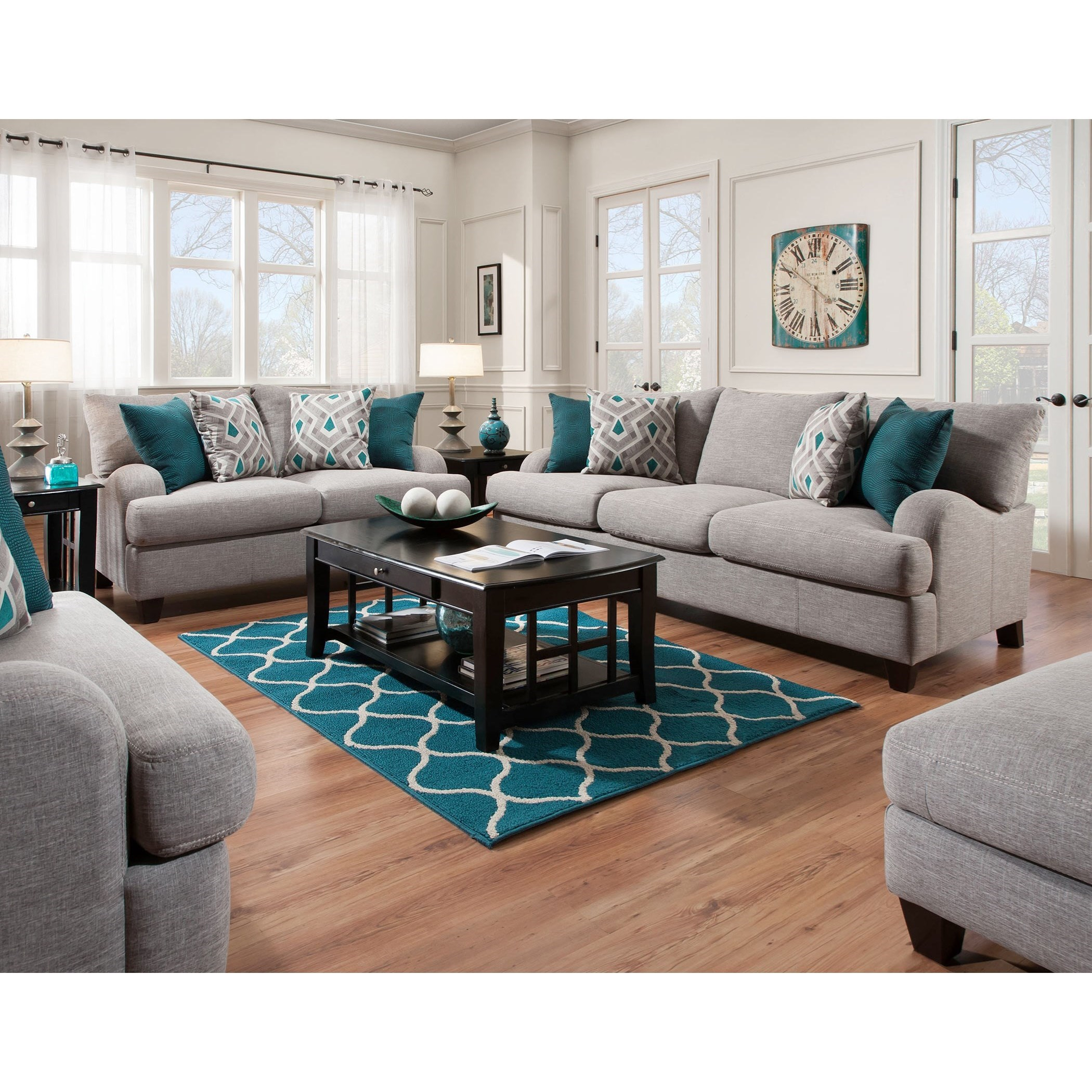 Paradigm Living Room Group by Franklin at Wilcox Furniture
