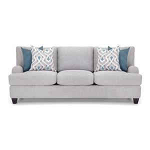 Sofa with Bold Accent Pillows