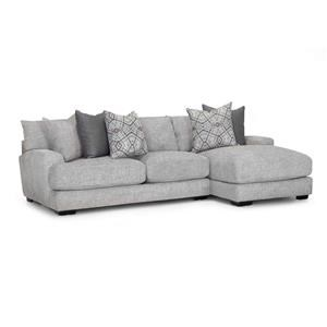 Two Piece Sectional Grey