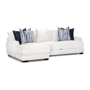 Two Piece Sectional White