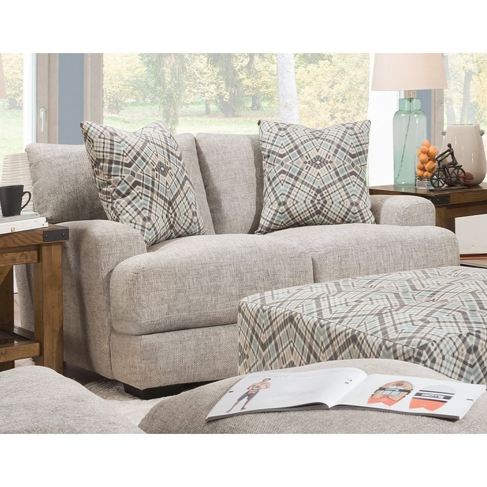 903 Loveseat by Franklin at Wilcox Furniture