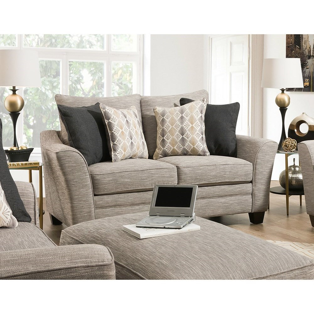 910 Loveseat by Franklin at Van Hill Furniture