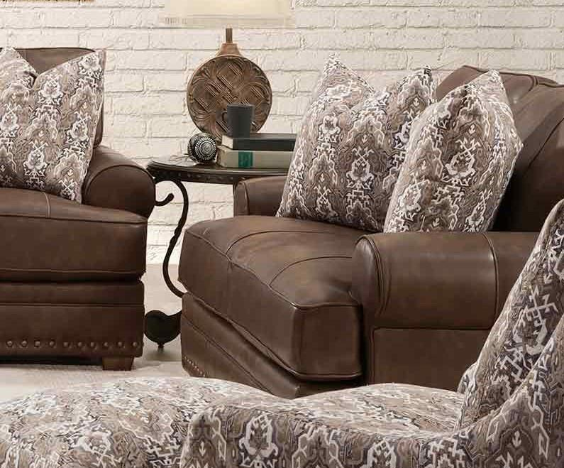 912 TULA LEATHER Tula Leather Loveseat by Franklin at Furniture Fair - North Carolina