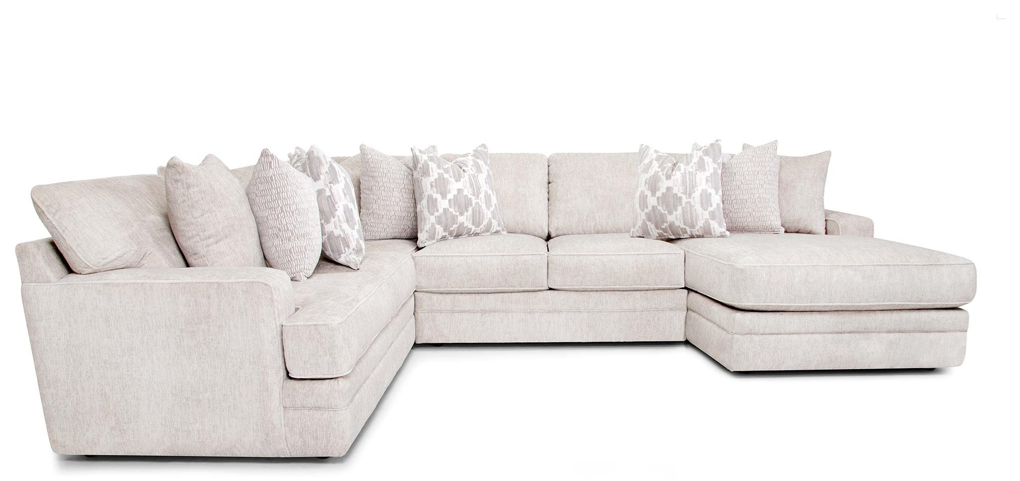 933 Adler Sectional Three Piece Sectional by Franklin at Furniture Fair - North Carolina