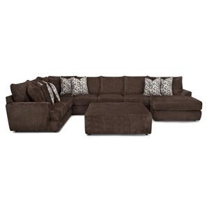 Three Piece Chaise Sectional
