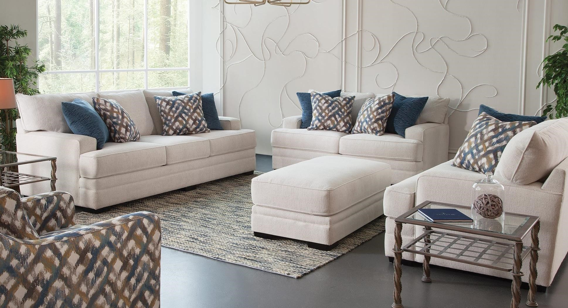 953 Stationary Living Room Group by Franklin at Wilcox Furniture
