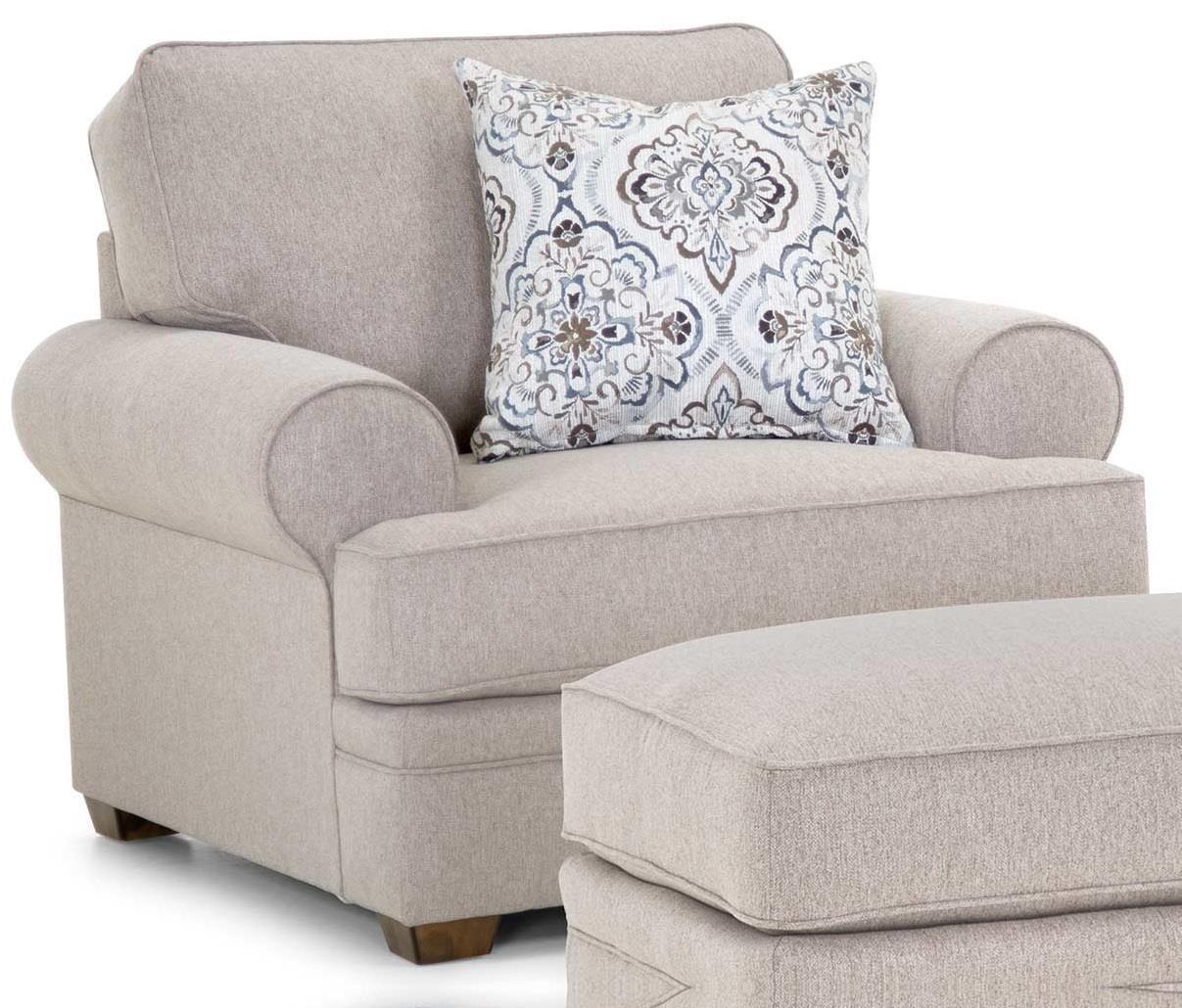 Anniston Chair & a Half at Bennett's Furniture and Mattresses