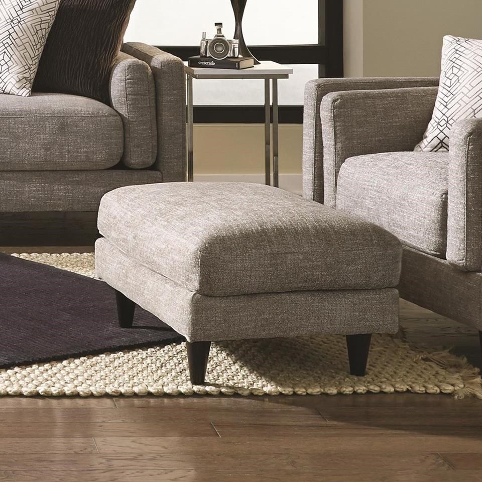 Argentine 838 Ottoman by Franklin at Wilcox Furniture