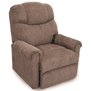 2-Way Chaise Lift Recliner with Battery Backup