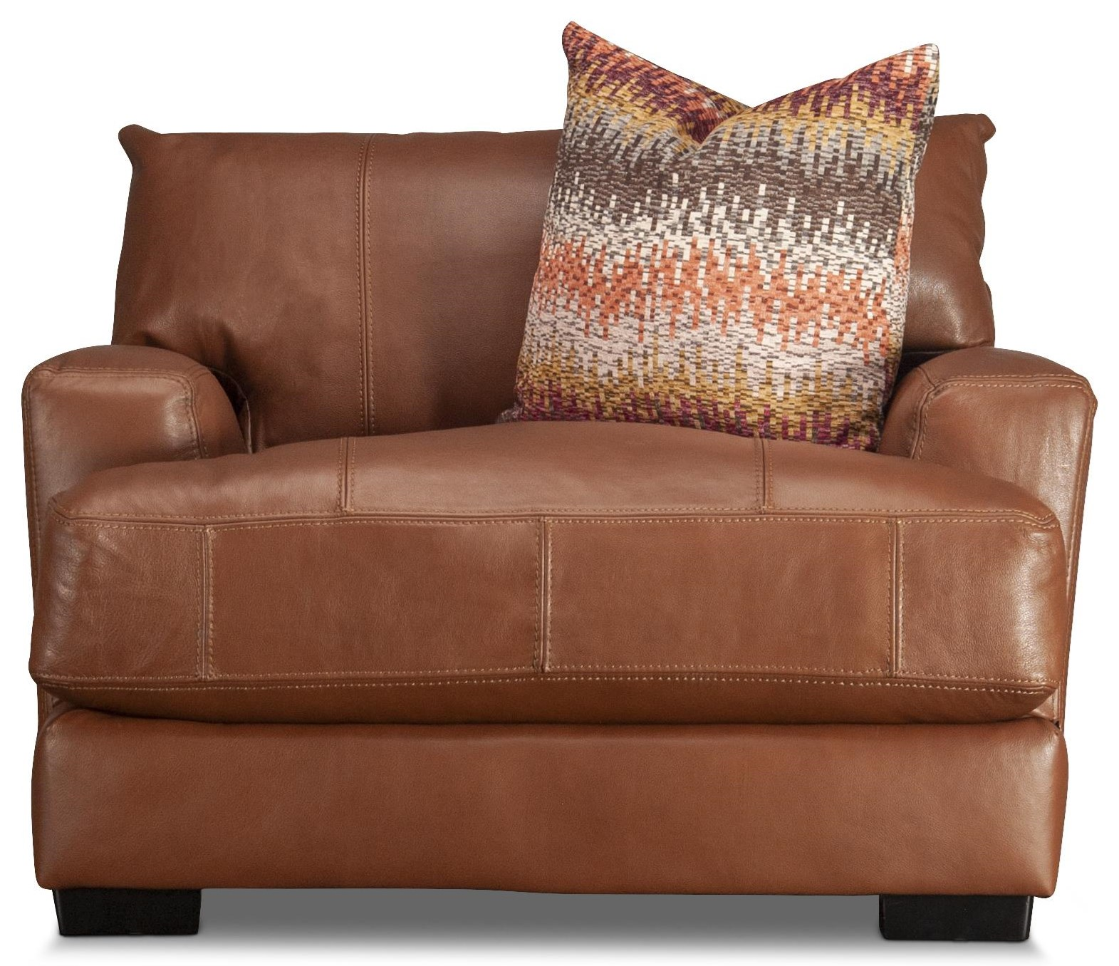 Blair Blair Leather Match Chair by Franklin at Morris Home