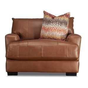 Blair Leather Match Chair