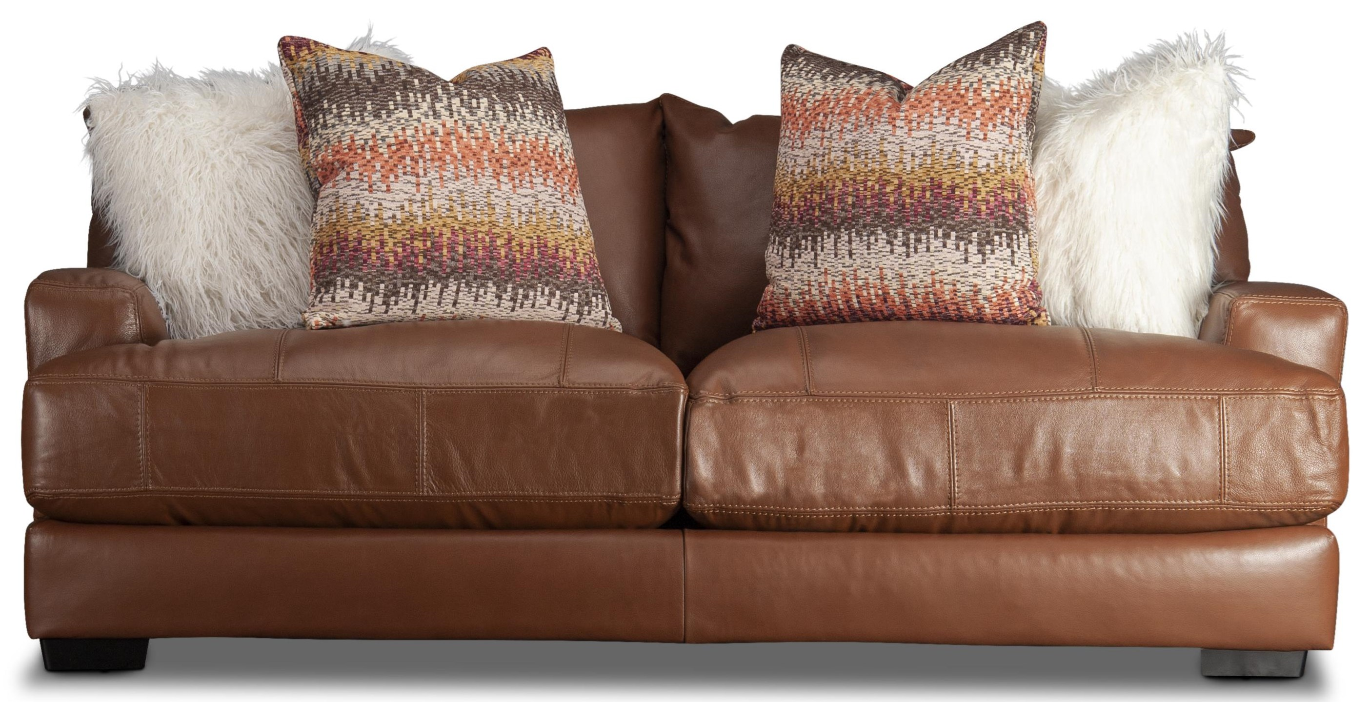 Blair Blair Leather Match Sofa by Franklin at Morris Home