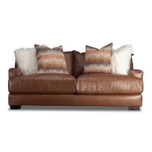 Blair Leather Match Sofa